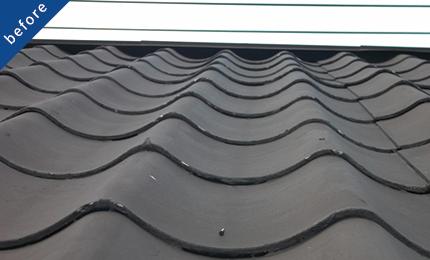 既存屋根を塗装する工法