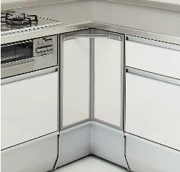 クリナップ ステンレス キッチン 収納 コーナー