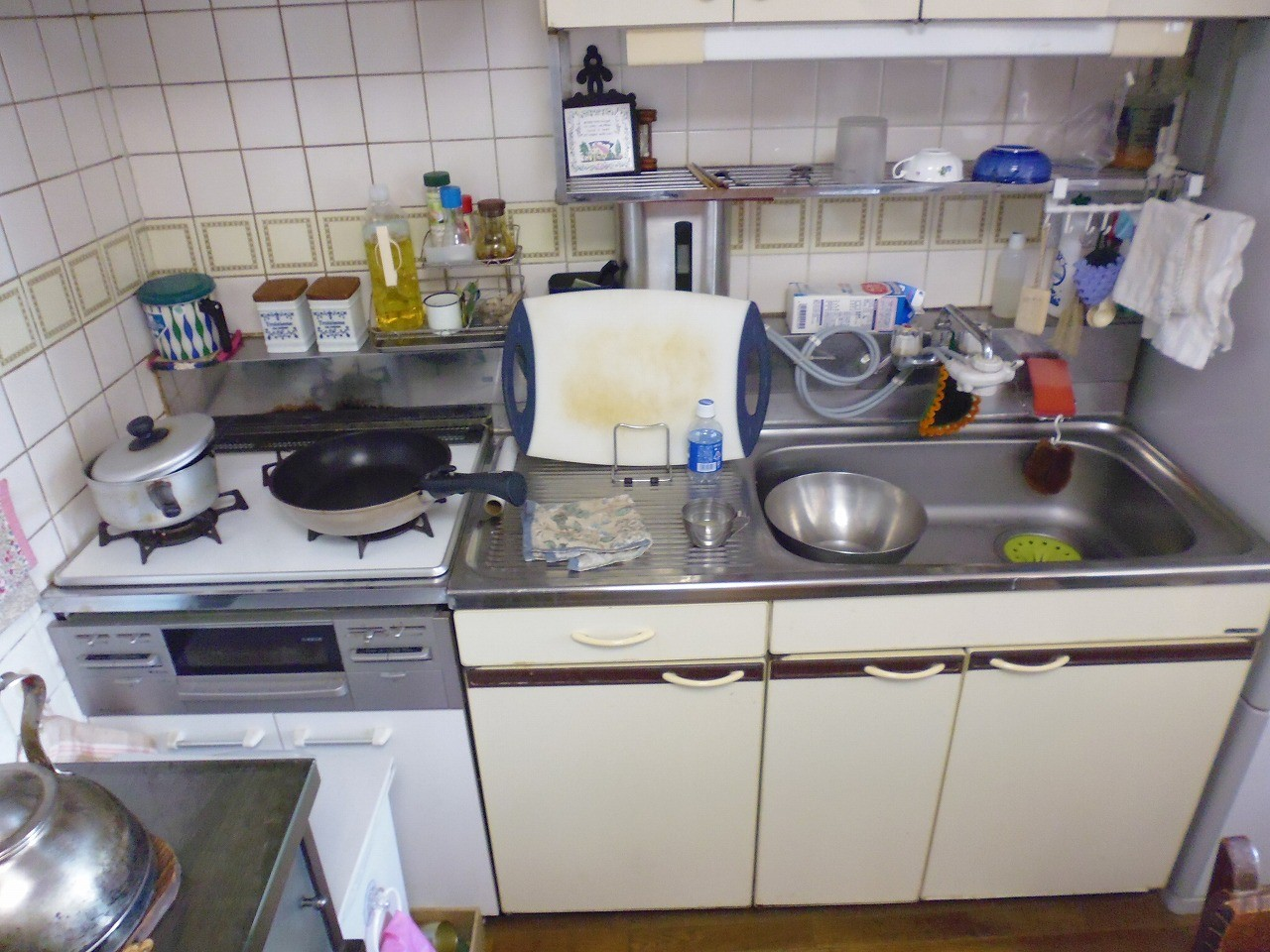 節水,横浜市,キッチン