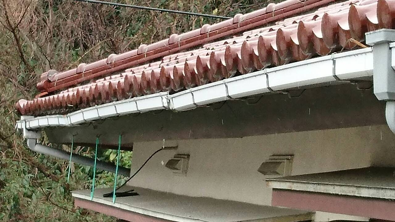 鎌倉市,漆喰,雨樋,屋根