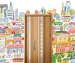 横浜,リフォーム,玄関ドア,シャッター,防火戸,フラップスラット,LIXIL