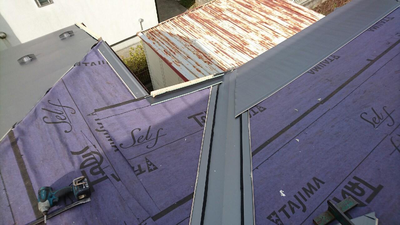 横浜,リフォーム,雨漏れ,カバー工法