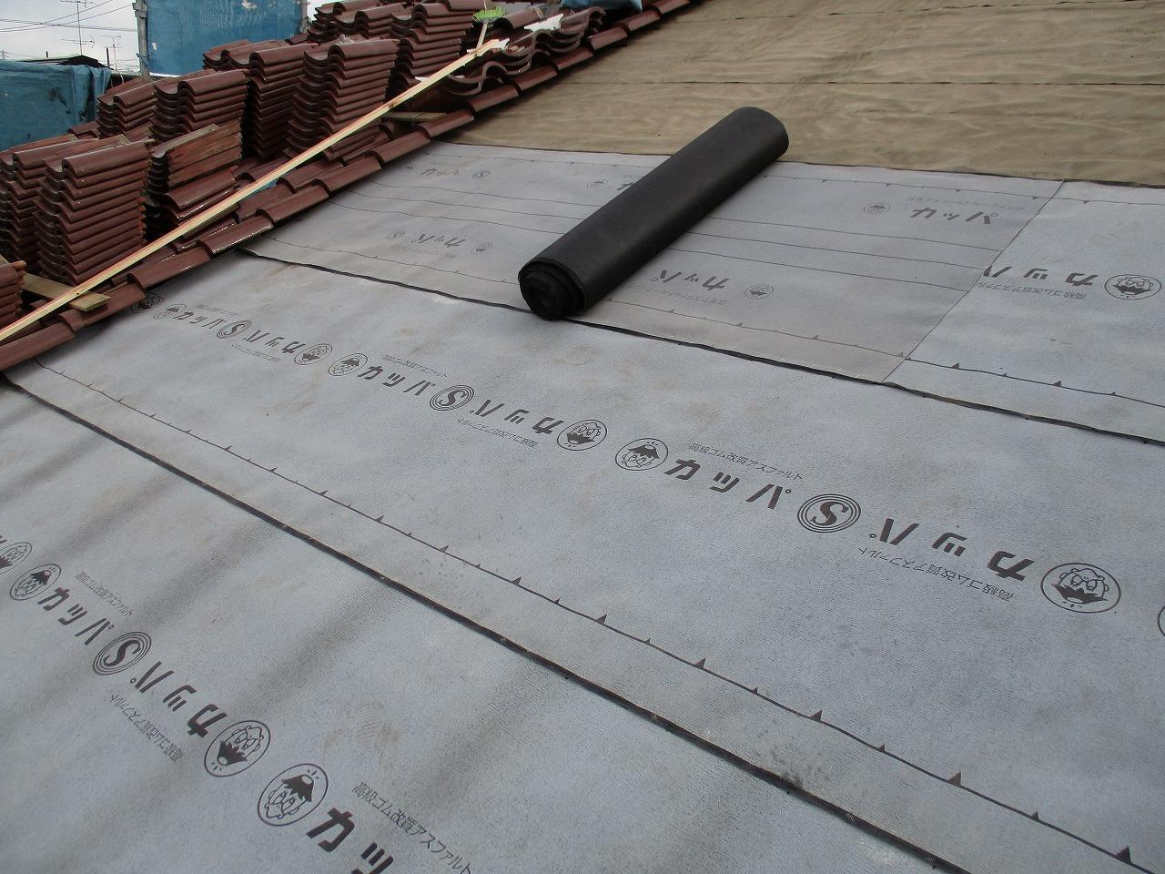 横浜,リフォーム,雨漏れ,瓦,葺き直し