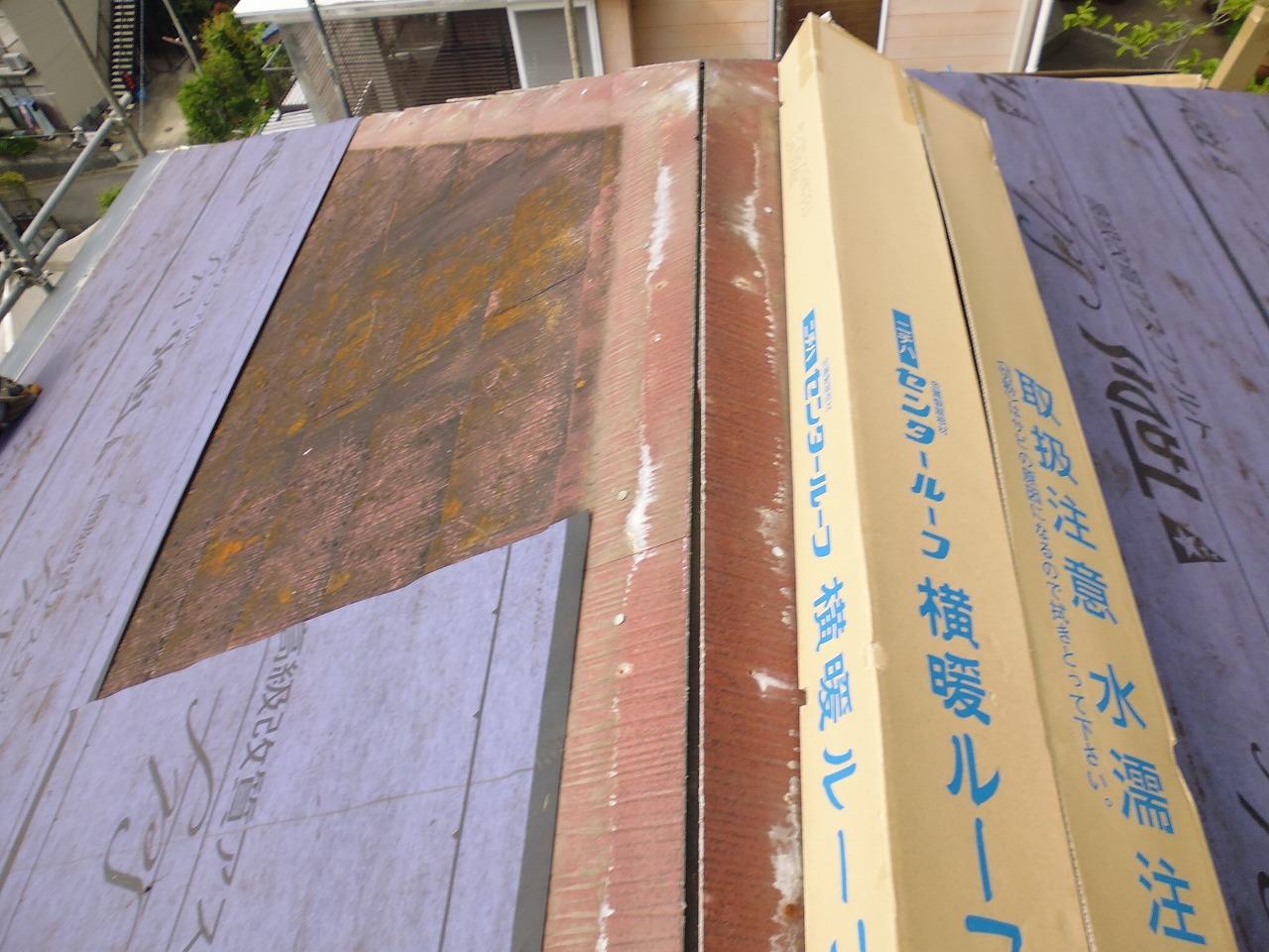 横浜,藤沢,雨漏れ,カバー工法,ガルバ