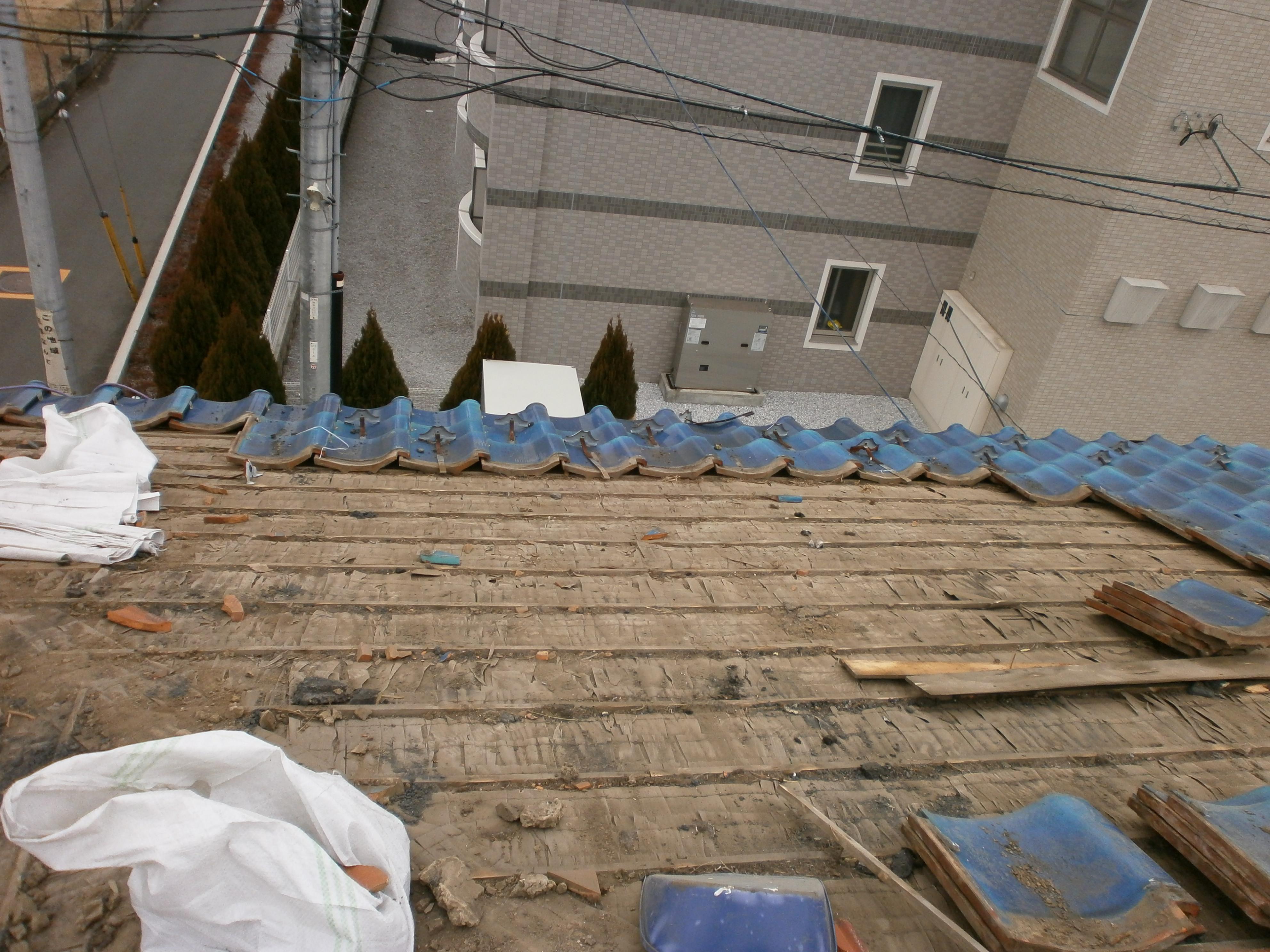 屋根,リフォーム,雨漏れ、瓦