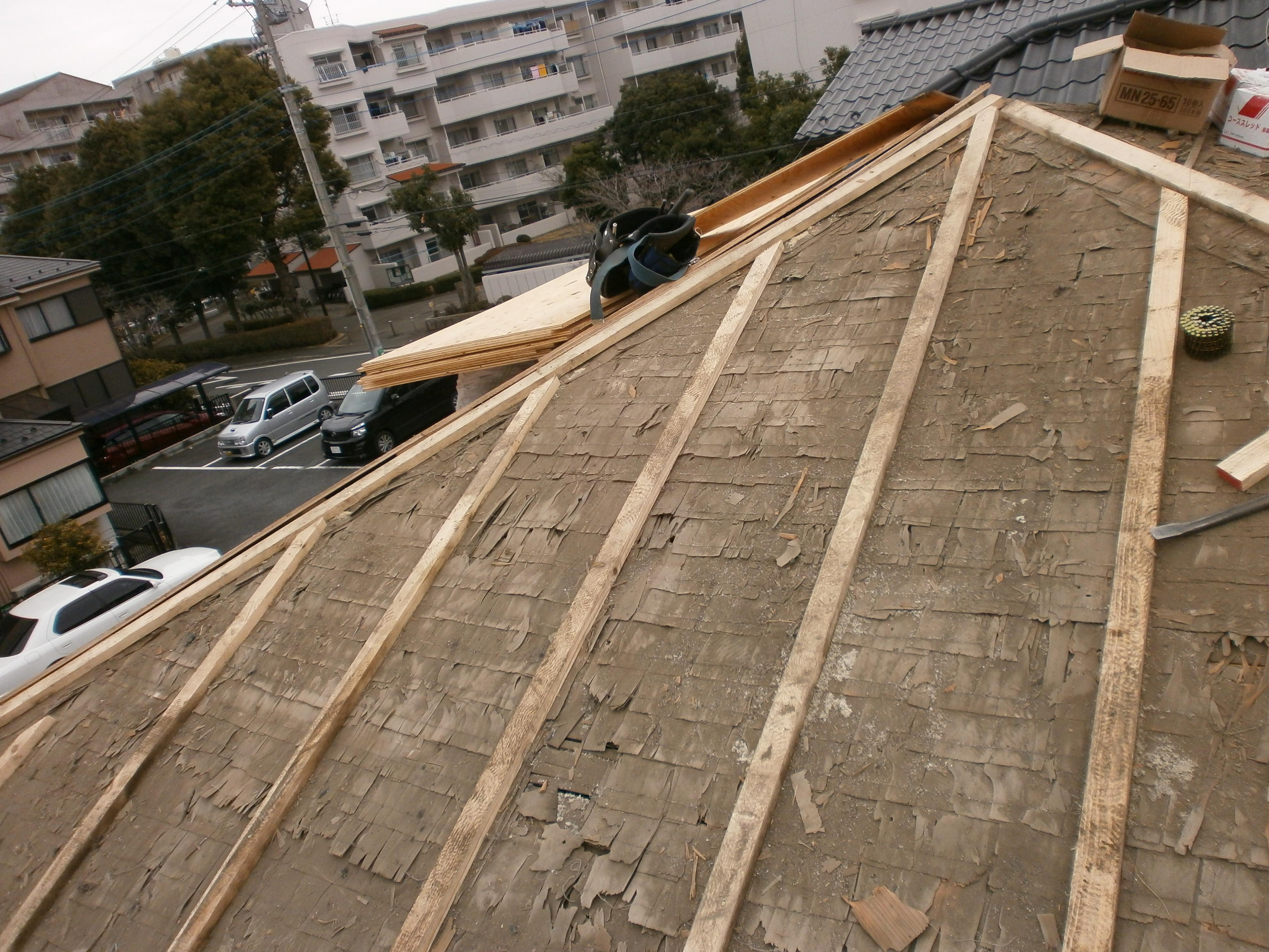 横浜,リフォーム,雨漏れ,瓦