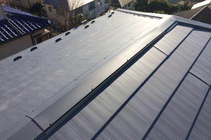 屋根,換気棟,葺き替え
