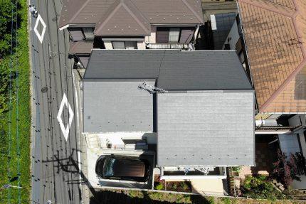 神奈川,横浜,ドローン,屋根,外装